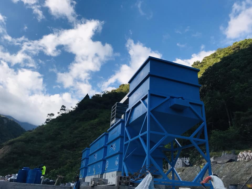 Planta de tratamiento de agua potable para Río Verde, Baños de Agua Santa 5 Planta de tratamiento de agua potable Parroquia Rio Verde 3