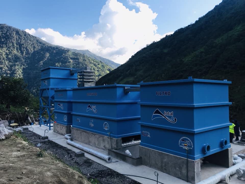 Planta de tratamiento de agua potable para Río Verde, Baños de Agua Santa 5 Planta de tratamiento de agua potable Parroquia Rio Verde 4